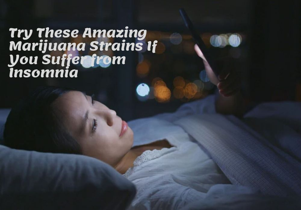Try These Amazing Marijuana Strains If You Suffer from Insomnia